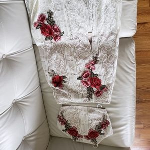 LuLus Skirt and Shirt